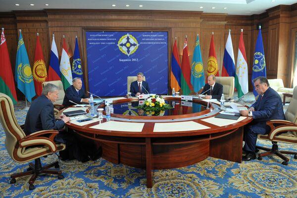 La cumbre informal de la Organización del Tratado de Seguridad Colectiva (OTSC) - Sputnik Mundo