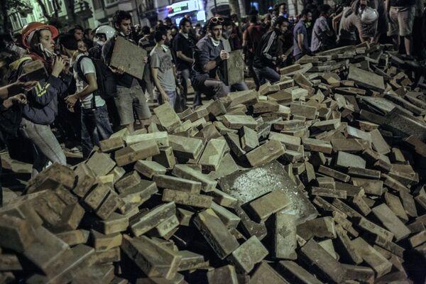 El Gobierno de Turquía estima en 40 millones de dólares el daño causado por las revueltas - Sputnik Mundo