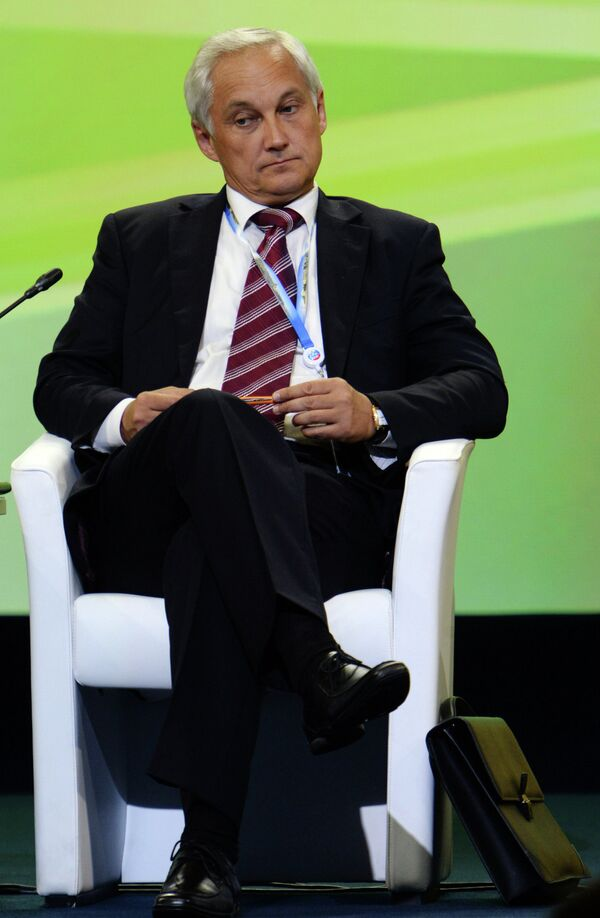 Ministro ruso de Desarrollo Económico, Andréi Beloúsov - Sputnik Mundo