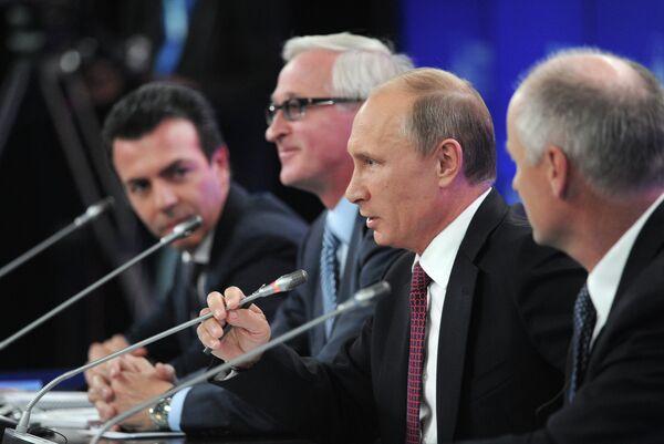 Putin denuncia la 'matrioska' de paraísos fiscales - Sputnik Mundo