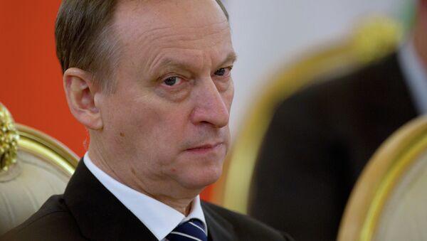 Secretario del Consejo de Seguridad de Rusia, Nikolái Pátrushev - Sputnik Mundo