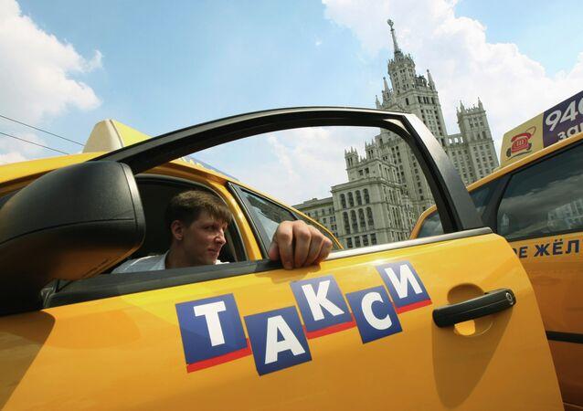 Taxista en Moscú (archivo)
