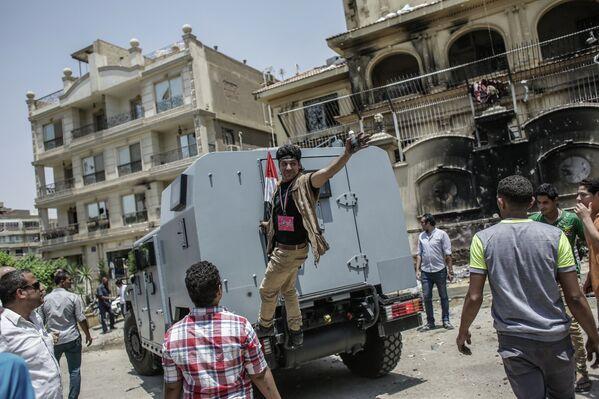 La oposición egipcia celebra el ultimátum militar - Sputnik Mundo