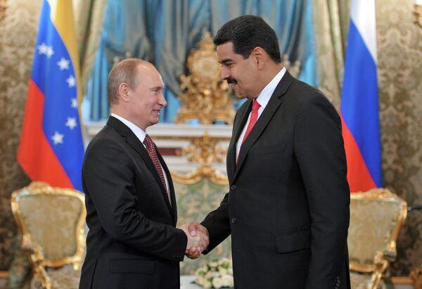 Vladímir Putin y Nicolás Maduro - Sputnik Mundo