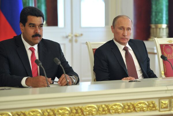 Rusia y Venezuela firman importantes acuerdos en materia energética - Sputnik Mundo