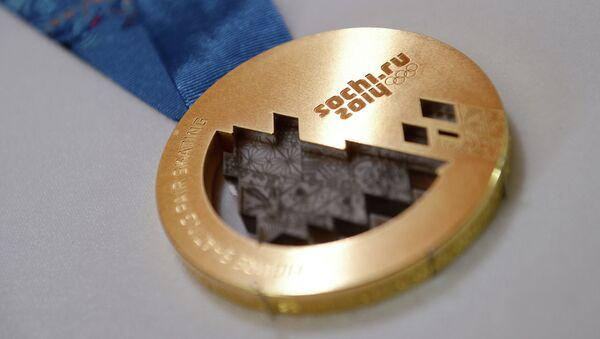 Medalla del oro de JJOO 2014 - Sputnik Mundo
