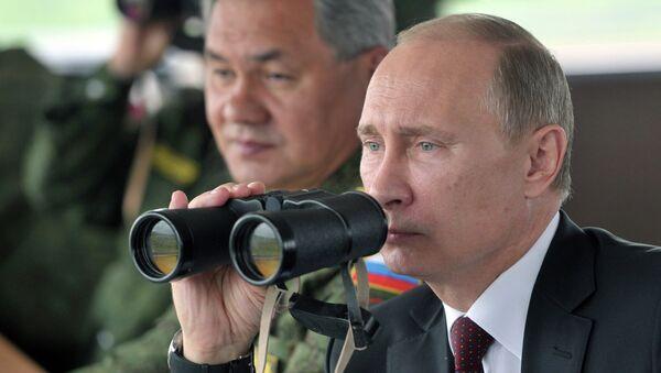 Putin inspecciona lanzamiento de misiles balísticos intercontinentales Tópol y Voevoda - Sputnik Mundo