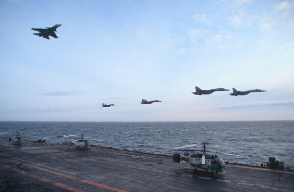 La aviación naval, orgullo de la Armada de Rusia - Sputnik Mundo