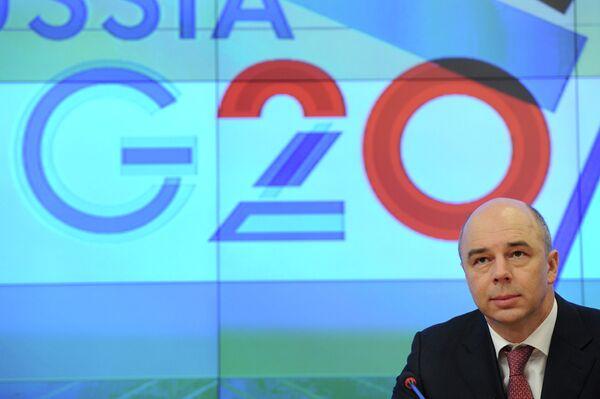 El ministro ruso de Finanzas Antón Siluanov - Sputnik Mundo