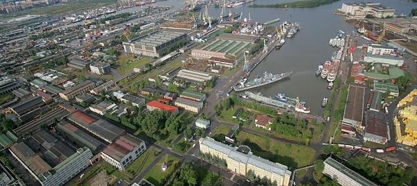 El astillero Severnaya verf de San Petersburgo - Sputnik Mundo