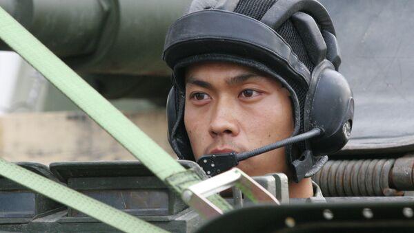 Soldado chino - Sputnik Mundo