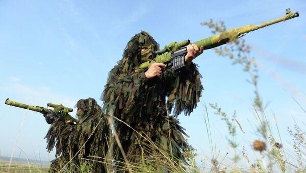 Francotiradores del Ejército ruso - Sputnik Mundo