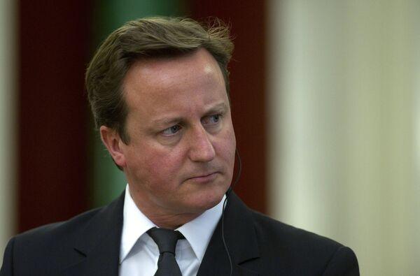 Primer ministro británico David Cameron - Sputnik Mundo