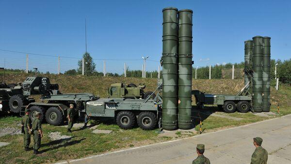Sistemas de misiles S-400 Triumf - Sputnik Mundo