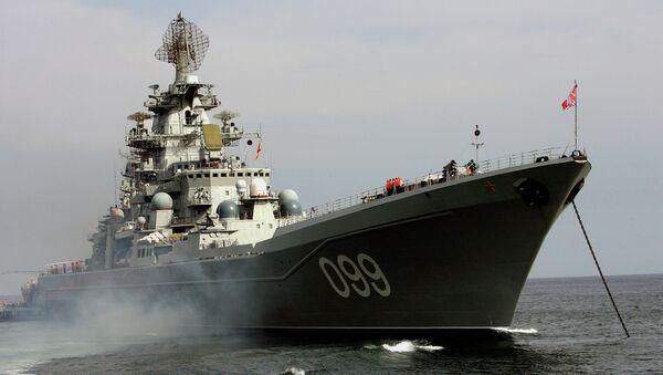 El crucero Piotr Veliki - Sputnik Mundo