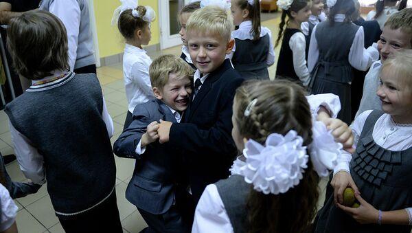 Escolares moscovitas - Sputnik Mundo