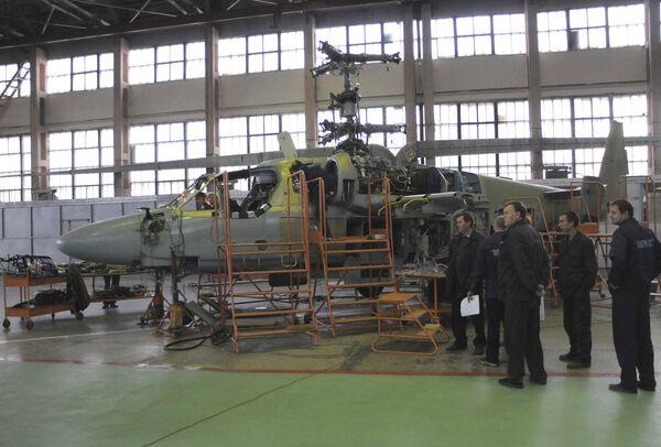 El Ministerio de Defensa de Rusia encargará 32 helicópteros a la planta Progress - Sputnik Mundo
