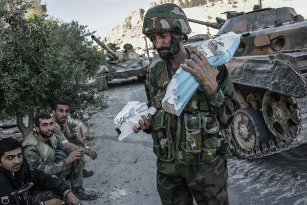 Las fuerzas gubernamentales en Siria - Sputnik Mundo
