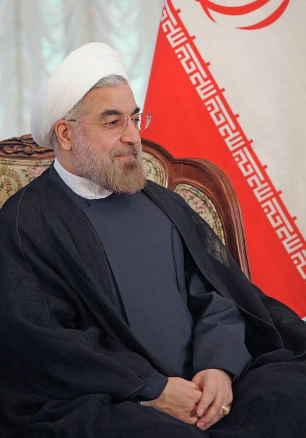 Presidente del Irán, Hasan Rohani - Sputnik Mundo