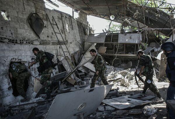 Damasco confía en que la ONU no aprobará el uso de la fuerza contra Siria - Sputnik Mundo