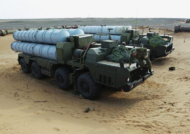 El sistema antiaéreo S-300