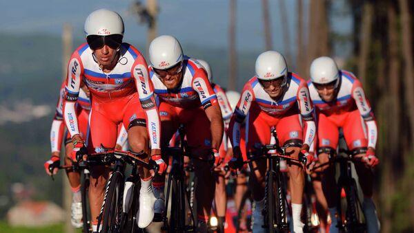 Equipo ciclista ruso Katiusha (Archivo) - Sputnik Mundo