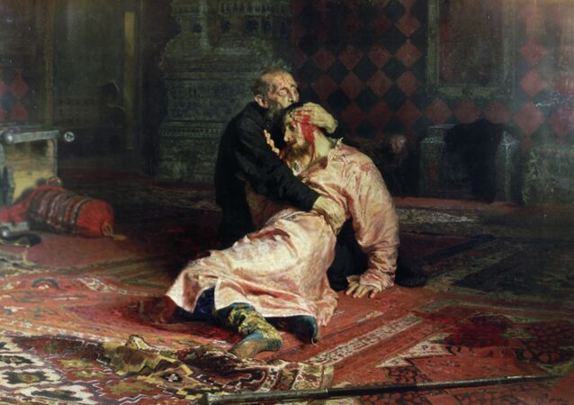 El cuadro 'Iván el Terrible y su hijo Iván'