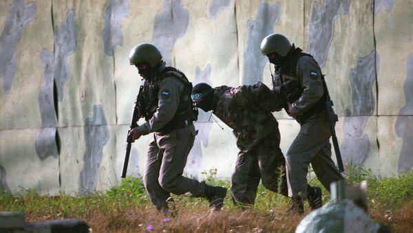 """Captura de """"terroristas"""" durante los ejercicios (archivo) - Sputnik Mundo"""