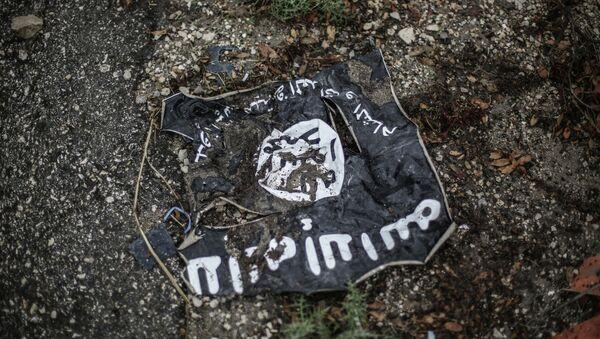 Bandera del Estado Islámico - Sputnik Mundo