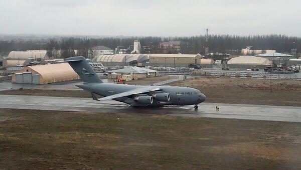 Base militar de EEUU en el aeropuerto Manas - Sputnik Mundo