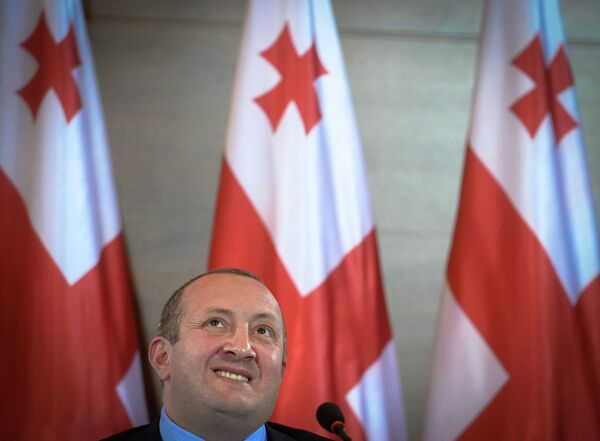 Gueorgui Margvelashvili - Sputnik Mundo