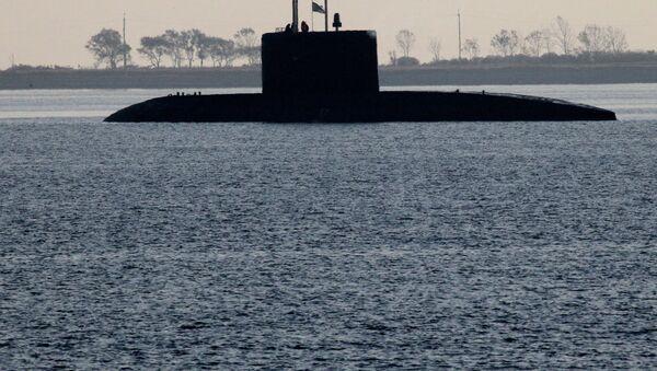 Submarino diésel-eléctrico del proyecto Vashavianka - Sputnik Mundo