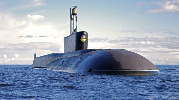Submarino nuclear Alexandr Nevski de clase Borei - Sputnik Mundo