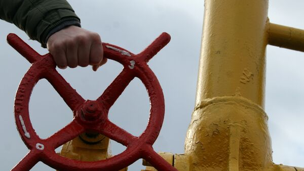 Gasoducto en Ucrania - Sputnik Mundo