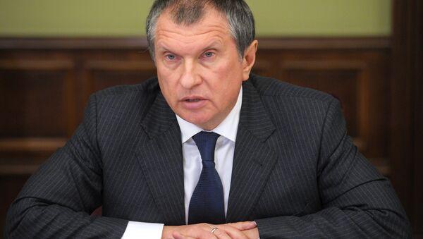 El jefe de la petrolera estatal rusa Rosneft Ígor Sechin (archivo) - Sputnik Mundo