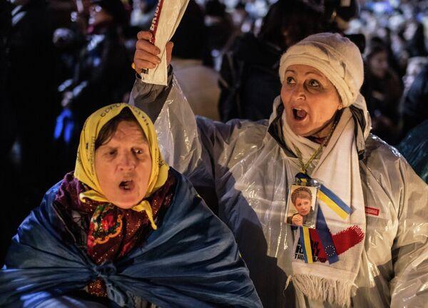 La oposición ucraniana exige al Gobierno excarcelar a Timoshenko - Sputnik Mundo