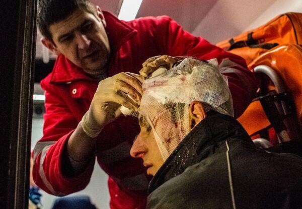 En los hospitales de Kiev permanecen 40 heridos en las protestas, según médicos - Sputnik Mundo