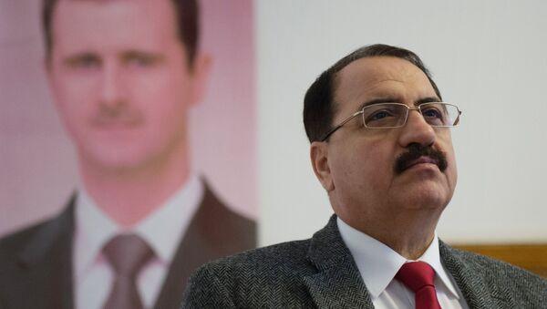 Embajador de Siria en Moscú, Riad Haddad - Sputnik Mundo