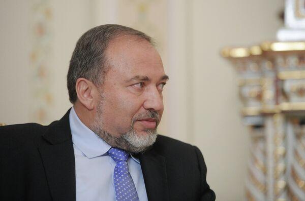 El ministro de Asuntos Exteriores de Israel Avigdor Lieberman - Sputnik Mundo