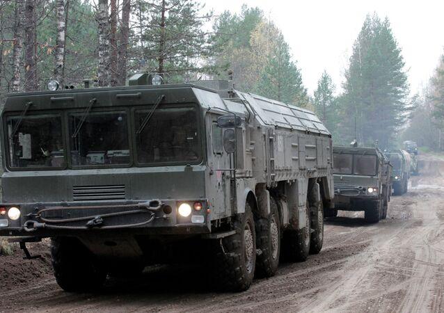 Sistemas de misiles tácticos Iskander
