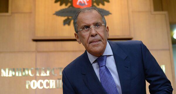 El ministro de Asuntos Exteriores de Rusia Serguéi Lavrov - Sputnik Mundo