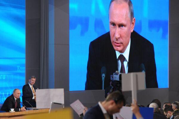Putin dice ser conservador en la defensa  de los valores capitales - Sputnik Mundo