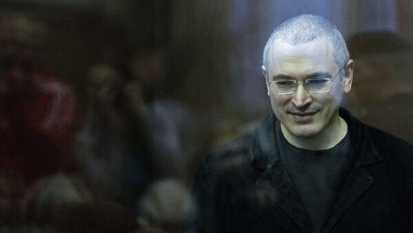 Mijaíl Jodorkovski, expresidente de la compañía Yukos - Sputnik Mundo