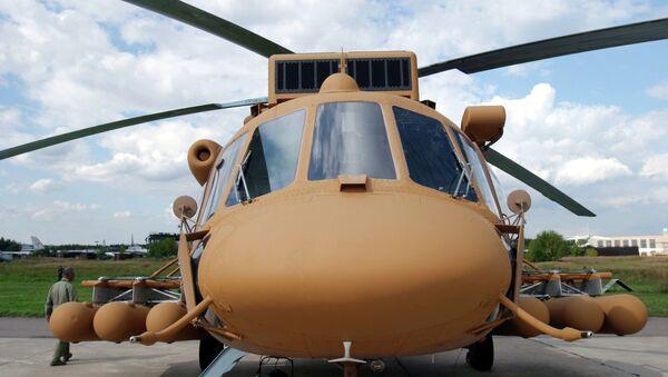 Helicóptero militar de transporte Mi-171Sh - Sputnik Mundo