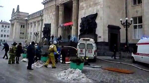 Explosión en estación ferroviaria de Volgogrado - Sputnik Mundo