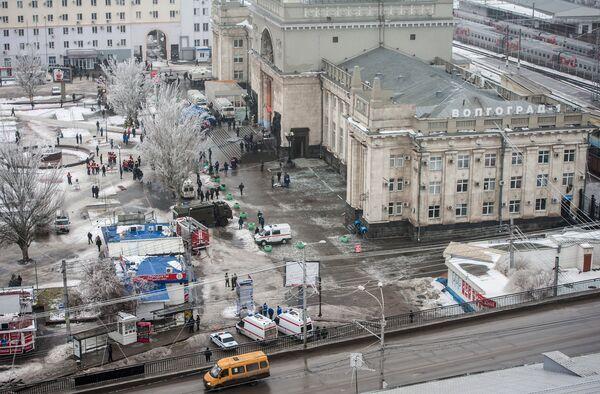 Atentado suicida en la estación de tren de Volgogrado - Sputnik Mundo