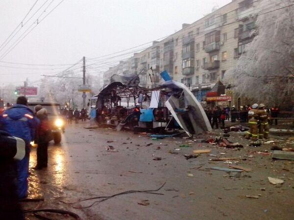 Al menos diez muertos en un nuevo atentado terrorista en Volgogrado - Sputnik Mundo