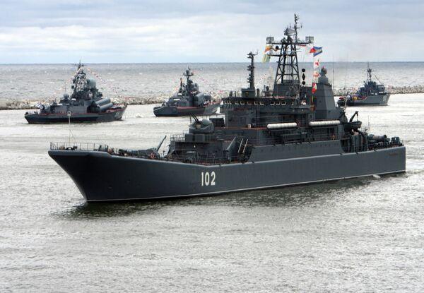 La Armada despliega  80 buques en el norte y el noroeste de Rusia - Sputnik Mundo