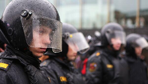 Agentes de policía rusa (archivo) - Sputnik Mundo