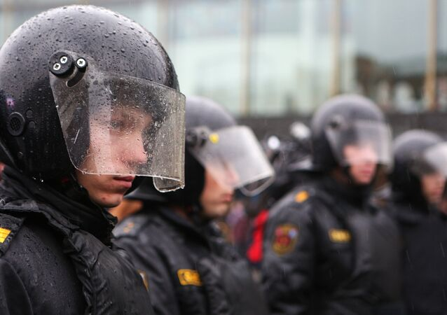 Agentes de policía rusa (archivo)